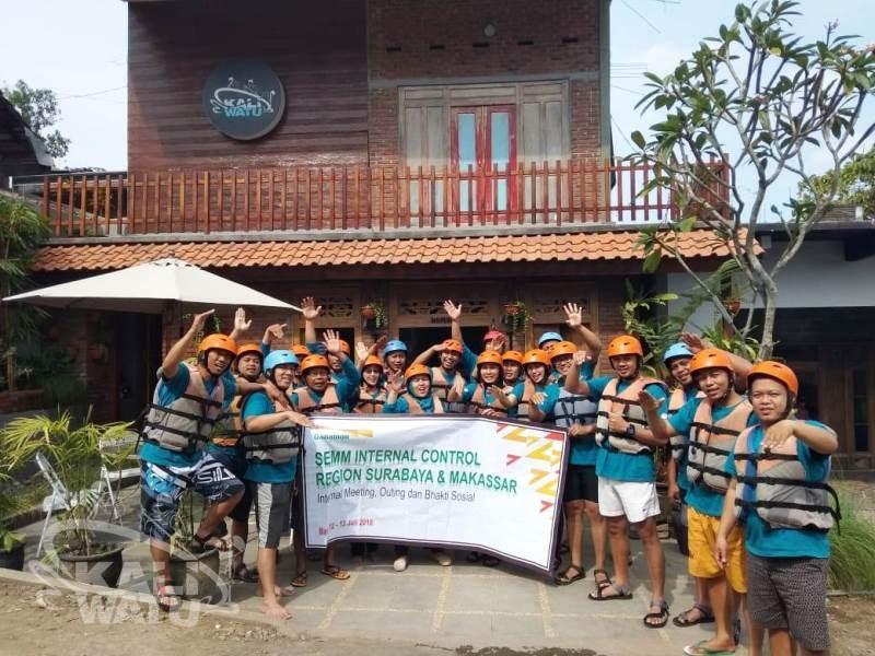 Rafting Bank Danamon di Kota Wisata Batu